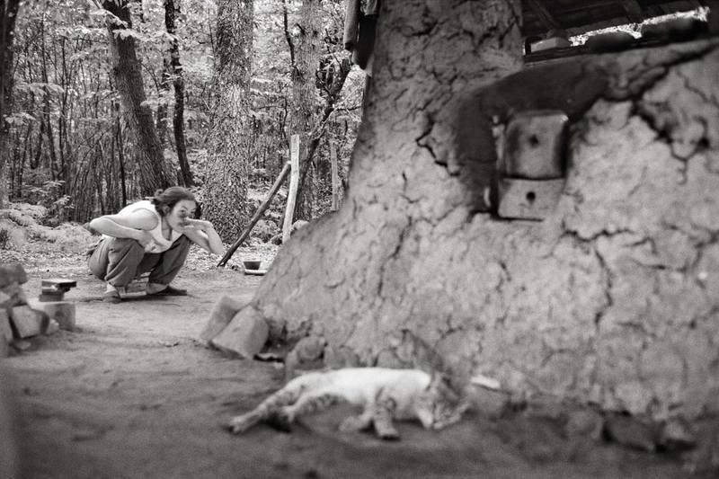 Photographs of Jérémie Logeay  Chemins dargile Argiles  ~ Cuisson Au Bois